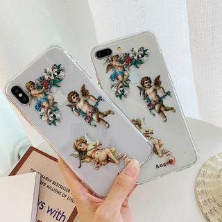 文藝邱比特iPhone手機殼