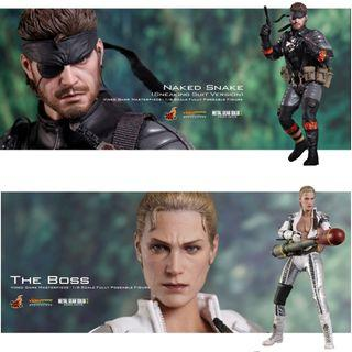 全新 Hottoys VGM015 Naked Snake & VGM016 The Boss Metal Gear Solid 潛龍諜影 合金裝備