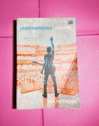 Novel original Ika Natassa - Underground