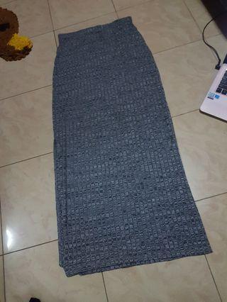 Factorie Grey Maxi Skirt