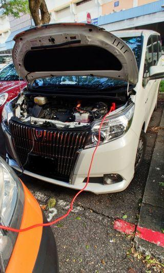 jumpStart Service for car and motorcycle