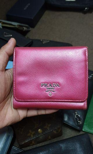 Authentic Prada Saffiano Wallet