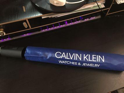 ck 自動 遮 雨傘 calvin klein