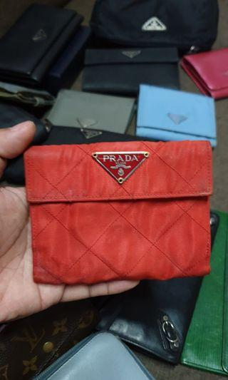 Authentic Prada Tessuto Wallet
