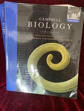 🚚 Campbell Biology ninth edition A levels
