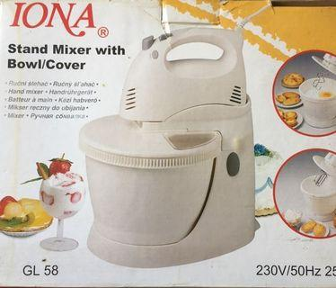 Iona Stand Mixer With Bowl/Cover