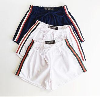 Navy Blue Track Shorts