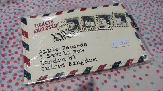 Beatles小包 (5.5'×3.5' 購自London Beatles Store 全新未拆袋 斷捨離)