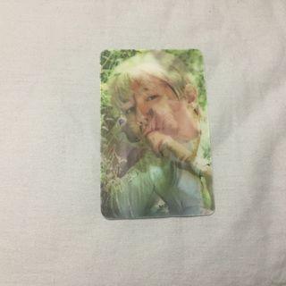 [price reduced] EXO Baekhyun lenticular photocard