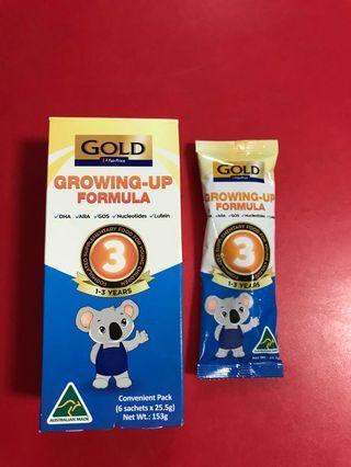 🚚 Gold fair price growing up formula