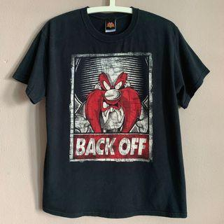 "🚚 Vintage Looney Tunes Yosemite Sam ""Back Off"" tee vtg"