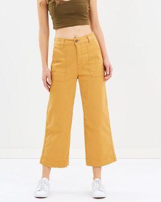 cotton on wide leg chop pants