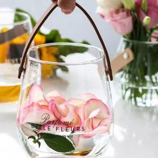 小清新👒皮革手提帶花瓶🌸