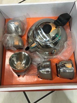 不鏽鋼茶壺組