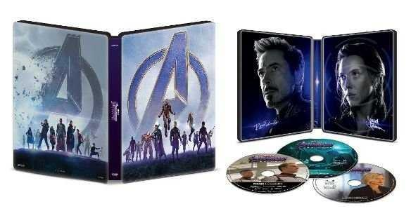 VERY RARE & HOT! *Pre-Order* Marvel Studios Avengers Endgame Best Buy Exclusive Limited Edition 4K Ultra HD, Blu-ray & Digital Copy Collectible Steel Book!