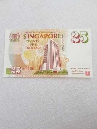 $25 COMMEMORATIVE NOTE with folder