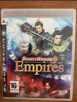 🚚 PS3 Games - Dynasty Warriors 6 Empire