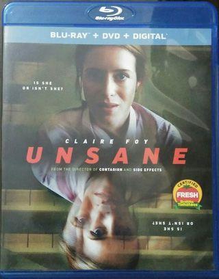 Blu Ray Unsane