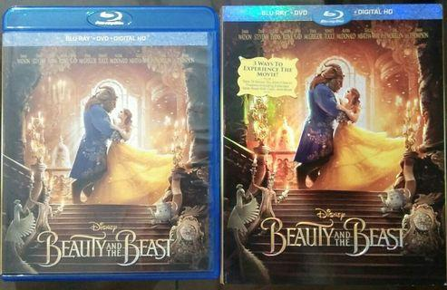 Blu Ray Beauty and the Beast