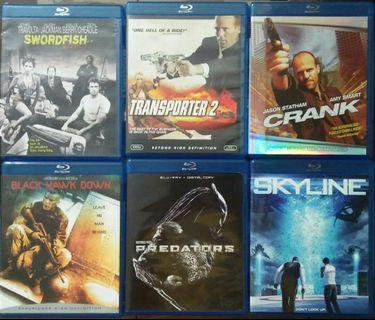 Blu Ray Action Lot
