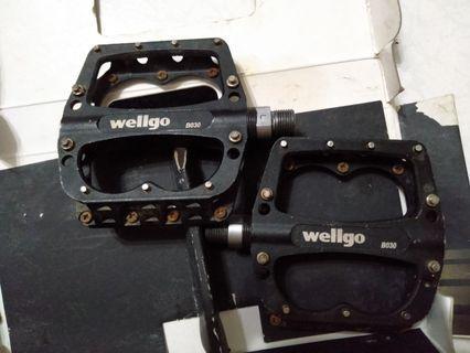Wellgo B030 Alloy Platform Pedals