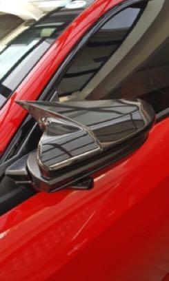 [PO] Honda Civic FC Stick-On Carbon Fiber Side Mirror