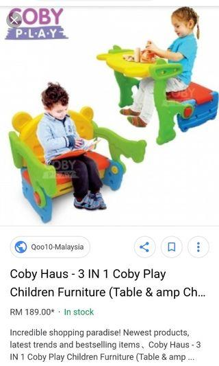 Coby  table and chair