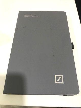 Deutsche wealth management notebook by castelli
