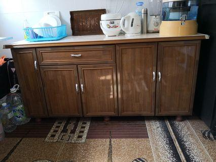 Kitchen Cabinet and TV Display Rack