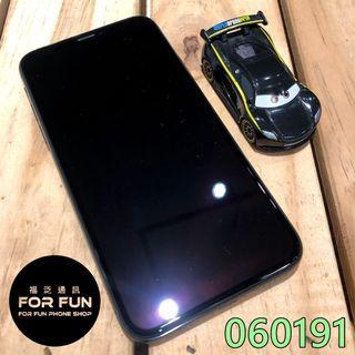 🌈(二手)Apple iPhone X 64G 黑色,外觀9成5新,有實體店面提供無壓力無卡分期歐!