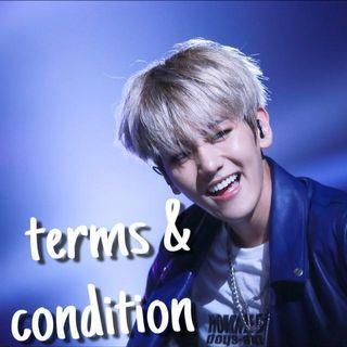 terms & condition (t&c)
