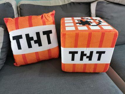 🚚 TNT MINECRAFT Cushion, OFFER YOUR PRICE