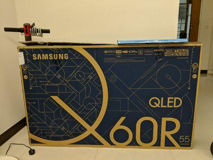 Samsung QLED Q60R Brand new 1 week old 5 years warranty
