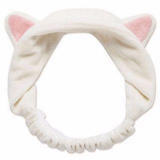Bando kucing warna putih