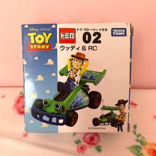 Toy story 胡迪 tomica 車仔