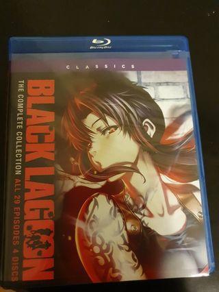Black lagoon complete anime series. Season 1 & 2 & OVA
