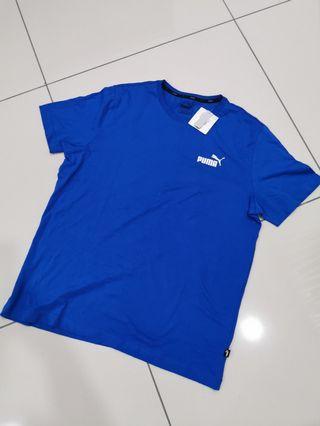 Original Puma Blue Tee T-shirt #carouselland