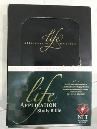 LIFE Application Study Bible limited anniversary edition