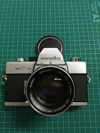 Minolta SRT 101 with MC Rokkor 58mm F1.4
