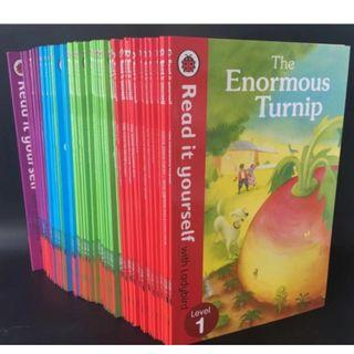 🚚 Ladybird Read it yourself小瓢蟲經典分級閱讀 (50本平裝讀本套書,可點讀)