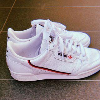 Adidas White Continental 80 Shoes