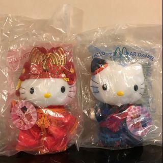 Hello Kitty (China and Japan) Wedding Two pairs Mc Donald