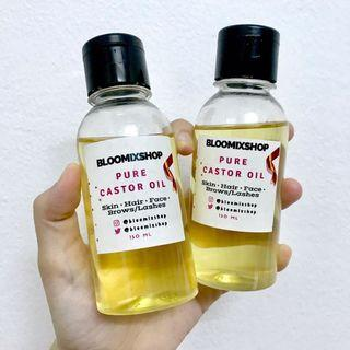 [ONE LEFT] Cold pressed Castor Oil