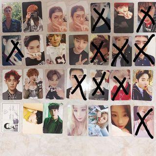 (qyop) wts exo & taeyeon pc clearance!!