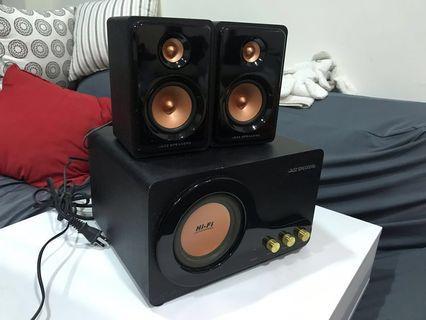 JS重低音喇叭