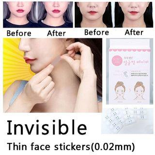 DODO V shape Face Liftup tape 40stickers