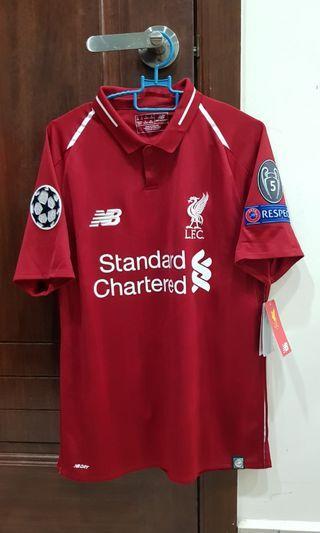 Original BNWT Liverpool 2018-2019 Home Jersey Small