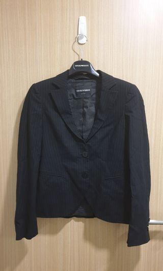 Dark grey blazer with stripes (Emporio Armani)