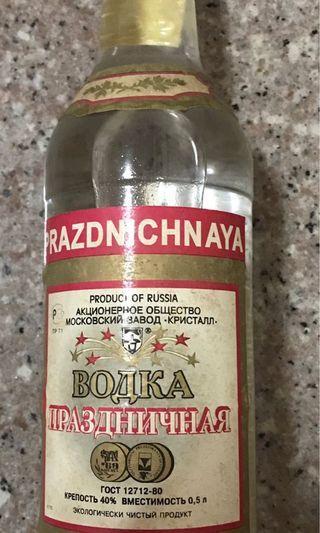 🚚 Russian Vodka