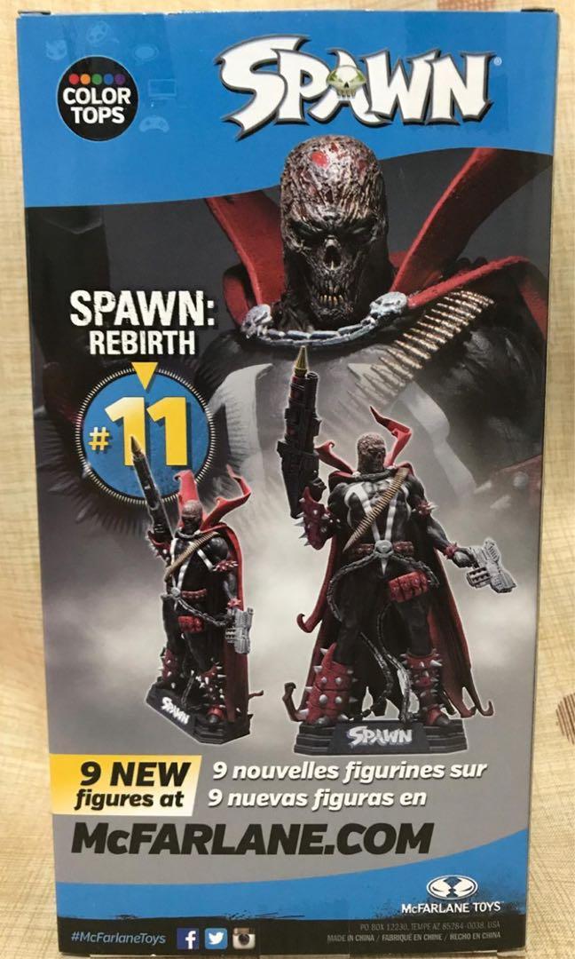 麥法蘭 McFarlane Toys 再生俠 閃靈悍將 重生 Spawn Rebirth Figure